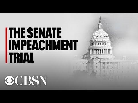 Impeachment Trial Day 3: Democrats Detail Trump-Ukraine Timeline In Opening Arguments