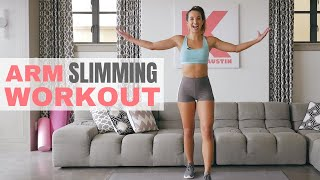 Quick Arm Slimming Workout | In Home Holiday Series