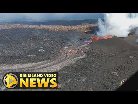 Hawaii Volcano Eruption Update - Sunday Evening (June 10, 2018)