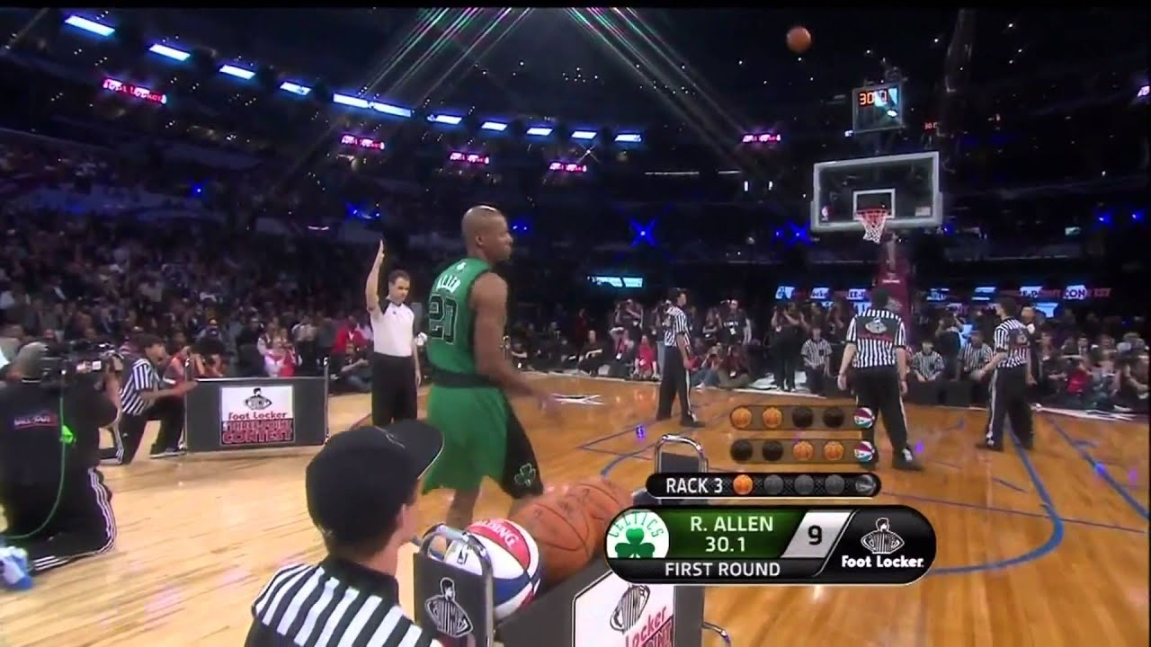 ray allen shooting form hd youtube