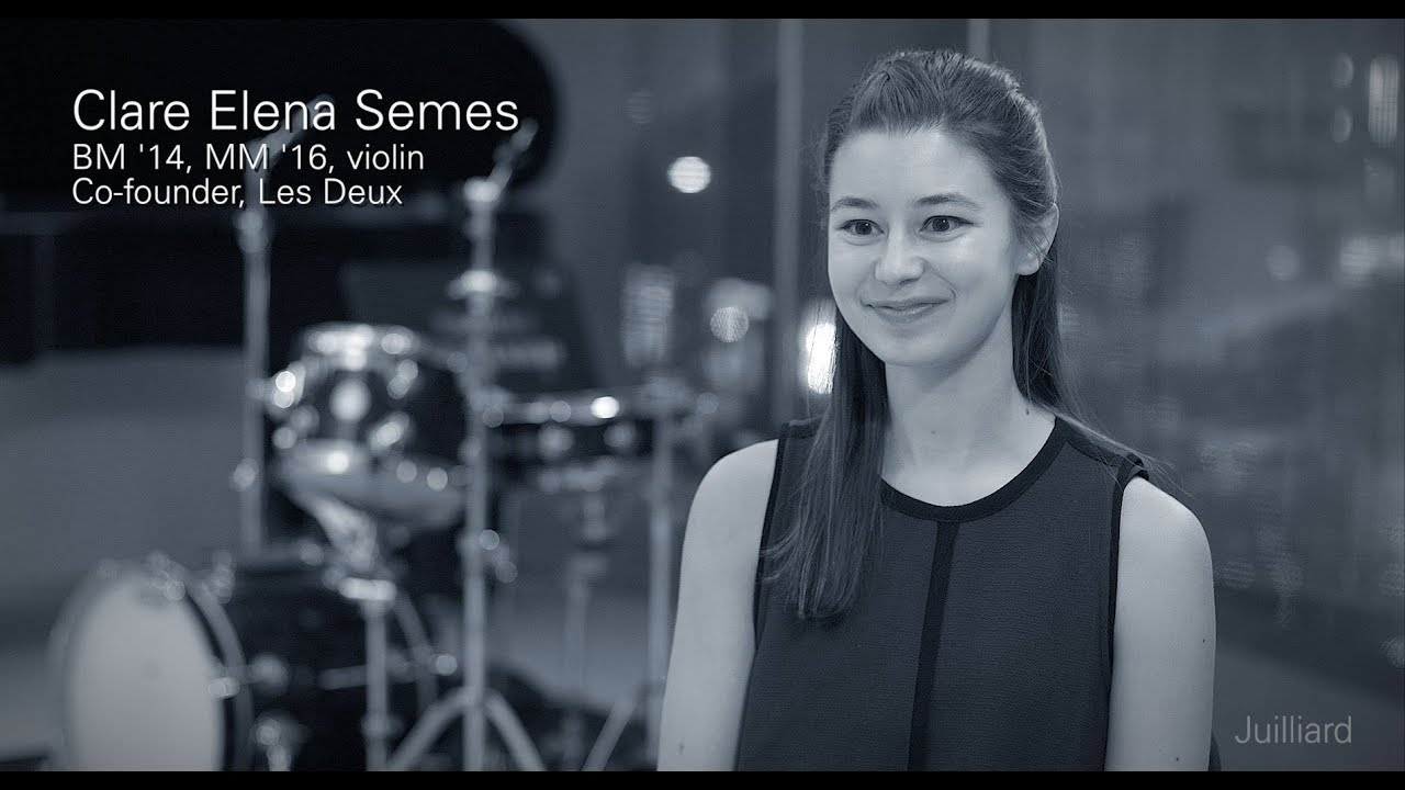 Juilliard Snapshot: Clare Elena Semes on Having Siblings at Juilliard