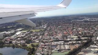 Departure from Sydney Domestic Airport