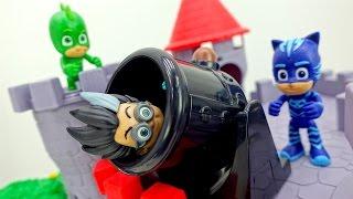 Ромео угнал автомобиль! Кетбой и Гекко проучат его.