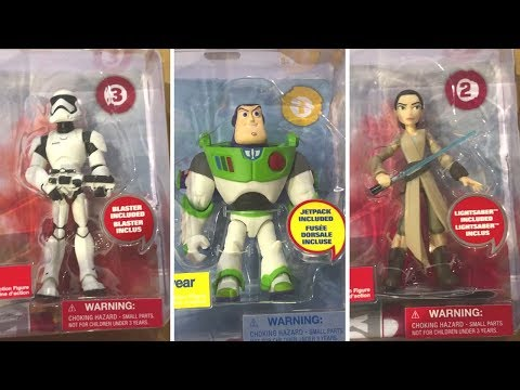 Disney Store ToyBox Figures Inspired by Disney Infinity Toy Hunting Vlog