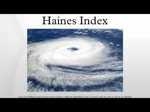 Haines Index