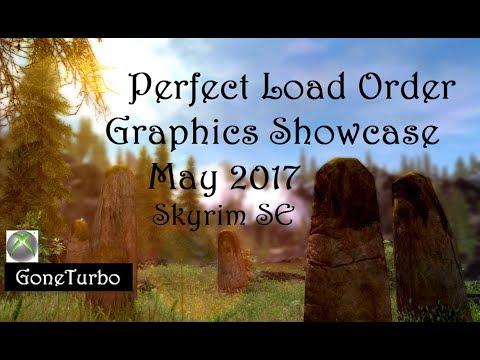 Skyrim Perfect Load Order Graphics Showcase Xbox May 2017