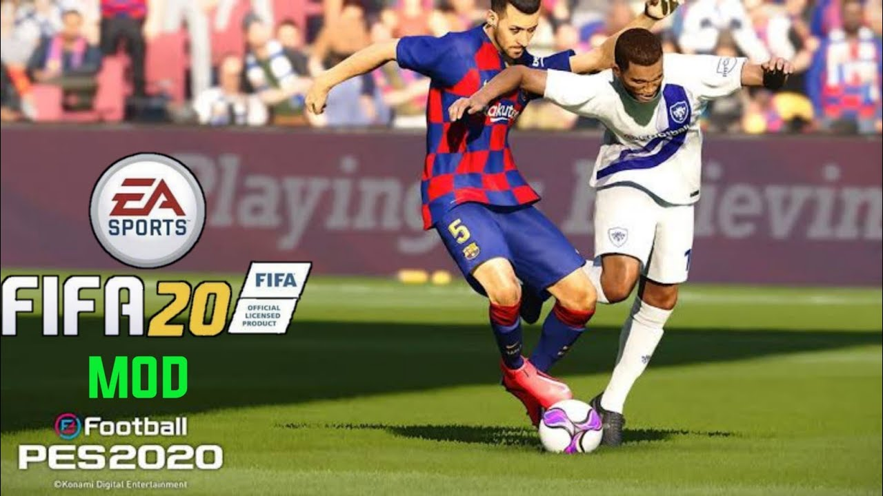 FIFA 20 MOD PES 20 Android Offline | Download FIFA 20 For Android [FIFA 20  APK+OBB+DATA]