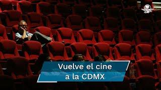 Las casi mil pantallas que se encuentran en la capital mexicana podrán abrir a partir del próximo miércoles