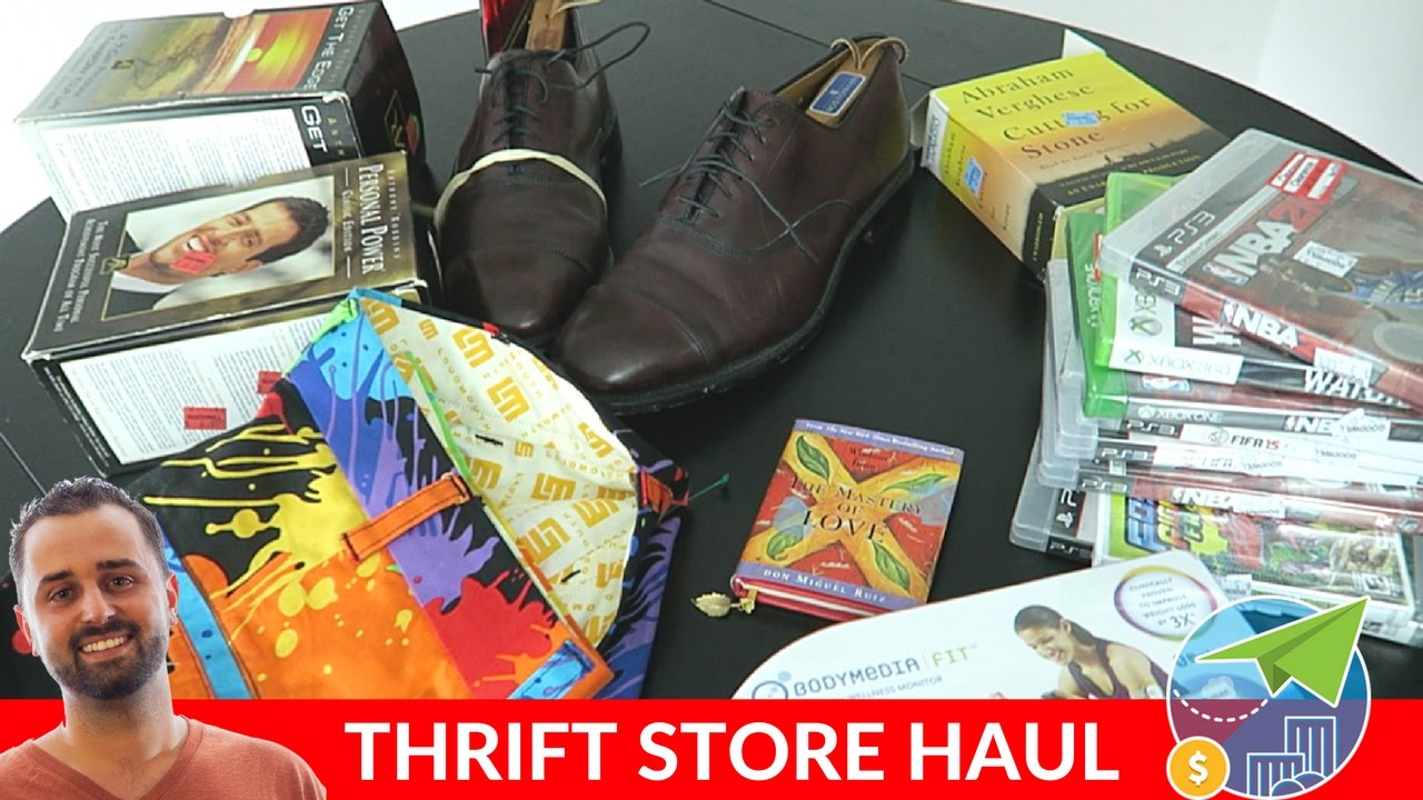 What I Found Thrifting To Sell On Ebay And Amazon For Ridiculous Profits Youtube