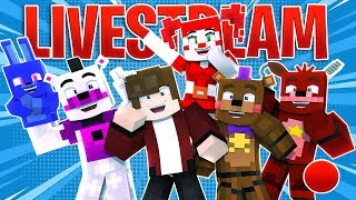 🔴 Minecraft FNAF 6 Pizzeria Simulator - USE CODE FAMOUS!!! Fun.Mineteria.Com (Minecraft Roleplay)