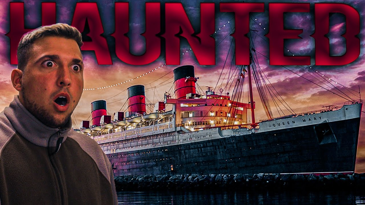 OVERNIGHT in HAUNTED QUEEN MARY: Full Access to Entire Ship