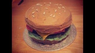 How To Make A Hamburger Cake