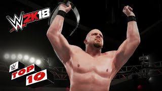 Crowd Favorite Finishers from the Attitude Era: WWE 2K18 Top 10