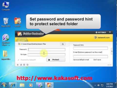 folder protector registration key free