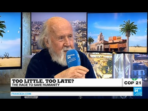 Paris Climate Conference: Is humanity doomed? We asked Hubert Reeves