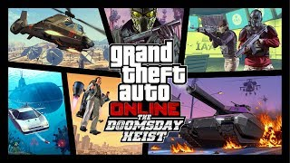 Gambar cover GTA Online: The Doomsday Heist Official Trailer