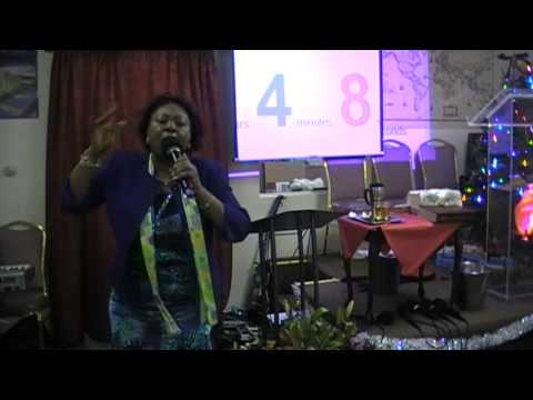 New Year's Eve Service - Tuesday, December 31st, 2013 - Dr. Pauline Walley-Danie...