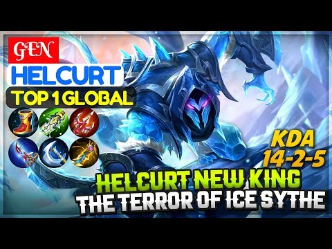 Helcurt New King, The Terror of Ice Sythe [ Top 1 Global Helcurt ] GEN Helcurt Mobile Legends