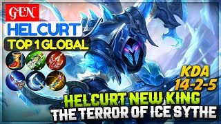 Helcurt New King, The Terror of Ice Scythe [ Top 1 Global Helcurt ] GEN Helcurt Mobile Legends