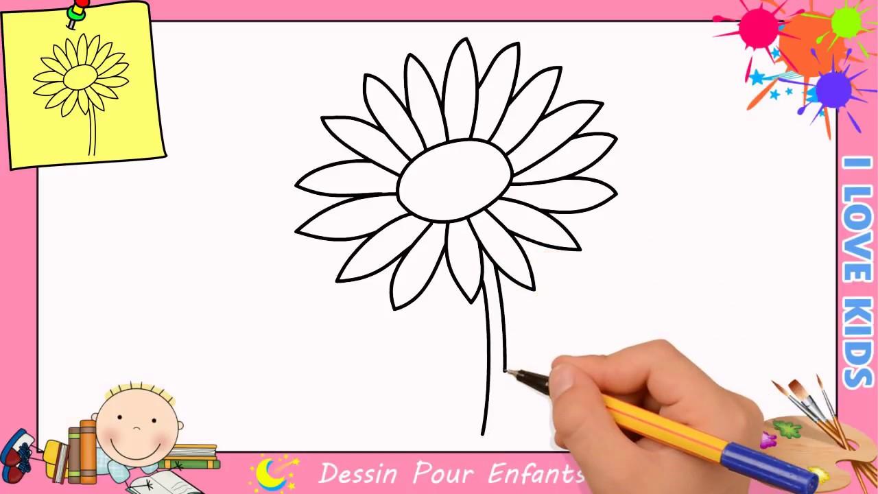 Comment Dessiner Une Fleur Facilement Etape Par Etape Pour Enfants 6