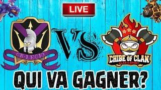 🔴 Chibe of clan VS Gabales Legio   Une fin de guerre TENDU   Clash of clans