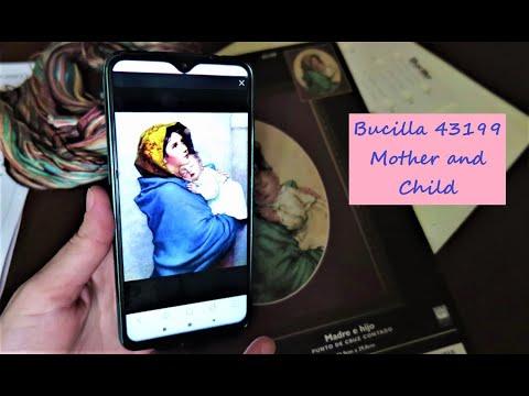 """Начало нового процесса!/ Bucilla 43199 Mother And Child/ Буцилла """"Мать и Дитя"""""""
