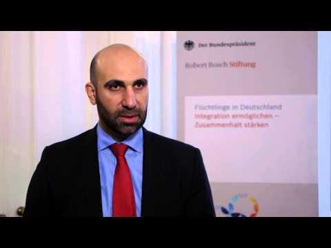 Interview mit Ahmad Mansour auf dem #ForumFlüchtlinge