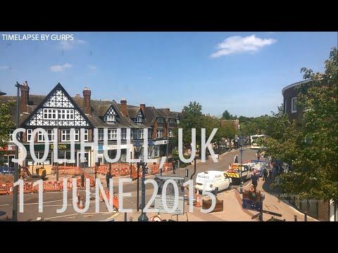 Solihull, UK Timelapse 11 June 2015 By Gurpsc