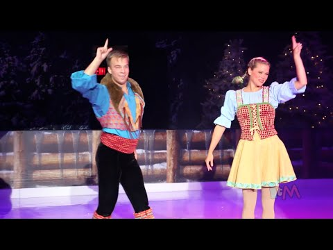 Frozen ice skating in Summer Fun event at Walt Disney World