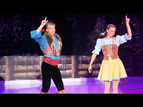 Frozen Ice Skating In Summer Fun Event At Walt Disney World Youtube