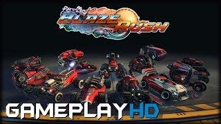 BlazeRush Gameplay (PC HD)