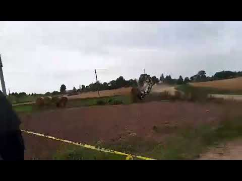 Benedikto Vanago avarija DHL Rally Elektrėnai