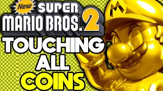Is it Possible to Beat New Super Mario Bros 2 While Touching Every Coin?