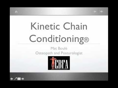 Kinetic Chain Conditioning® with Mat Boule (Posturologist & Osteopath)