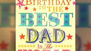 Happy birthday daddy...