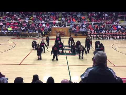 Salem community high school Dance team 1/22/16