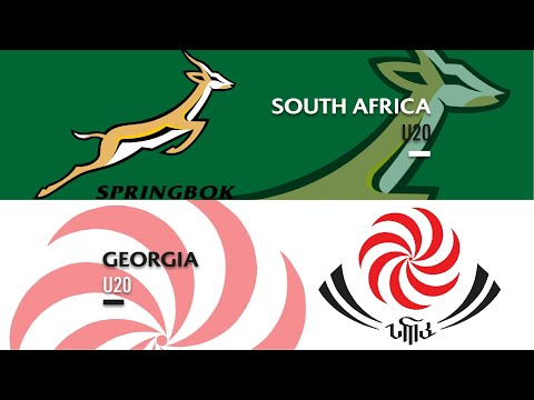 Highlights - South Africa U20s v Georgia U20s