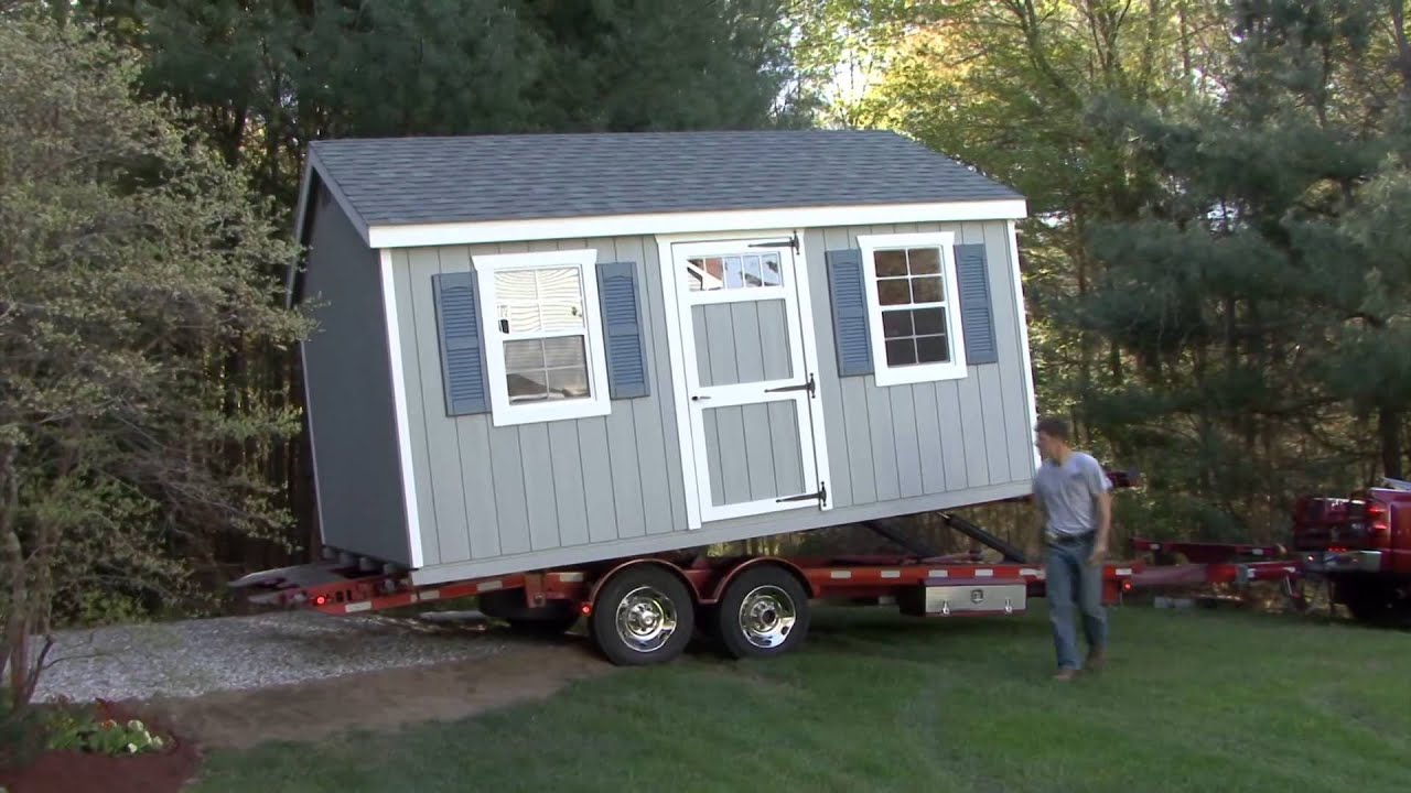 Shed Delivery Video