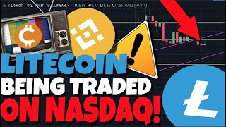 BREAKING NEWS: Litecoin Is Now Being Traded On The Nasdaq, Says Charlie Lee! BinanceCoin Analysis