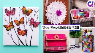 5 TYPE OF HOME DECOR Under ₹20   Recycle Waste Materials   Artkala