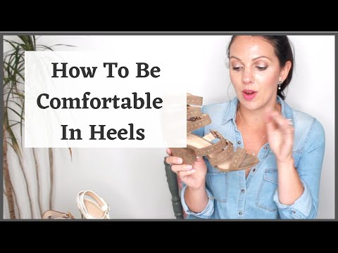 How To Wear Heels Comfortably After Lockdown
