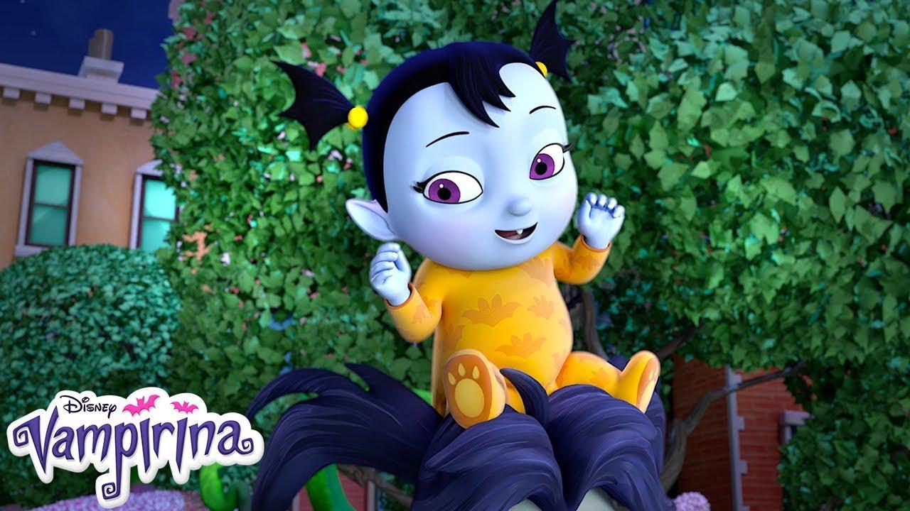 Vampire Lullaby Music Video Vampirina Disney Junior Youtube