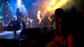 L7 live : Fuel My Fire, The Garage, Glasgow 15/6/15