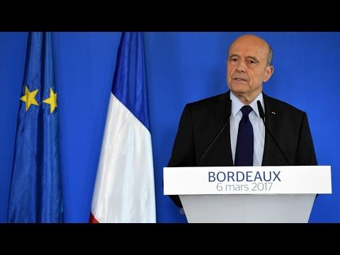 """REPLAY - Alain Juppé : Je ne serai pas candidat à la présidence de la République"""""""