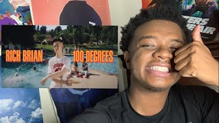 Rich Brian - 100 Degrees Official Video REACTION!!!