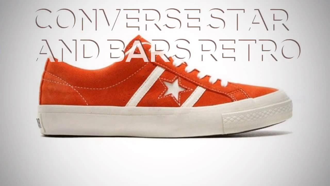 203919479fc32b CONVERSE STAR AND BARS RETRO   PEACE X9 - YouTube