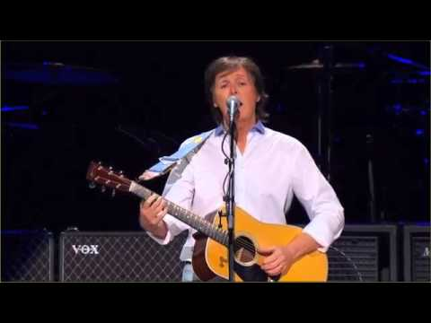 Paul McCartney Blackbird 12.12.12. Sandy relief concert HD