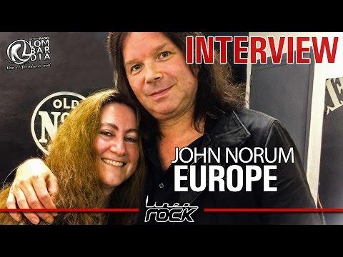 John Norum (EUROPE) - interview @Linea Rock 2016 by Barbara Caserta