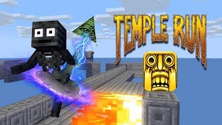 Gambar cover Monster School : TEMPLE RUN CHALLENGE- Minecraft Animation
