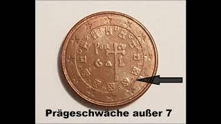 1 Cent Fehlprägung 500,00 €